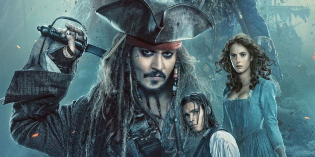 Pirates of the Caribbean Johnny Depp Disney Deadpool