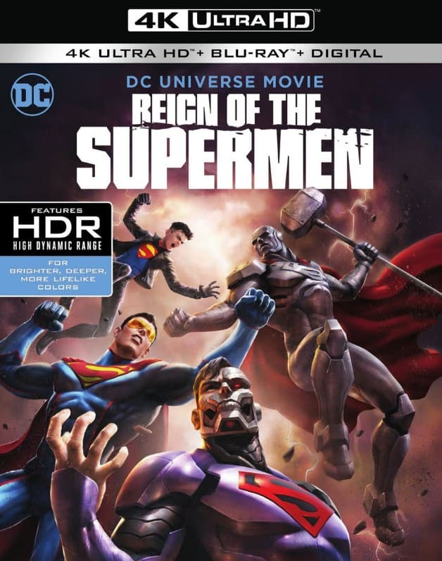Reign of the Supermen Cover Art