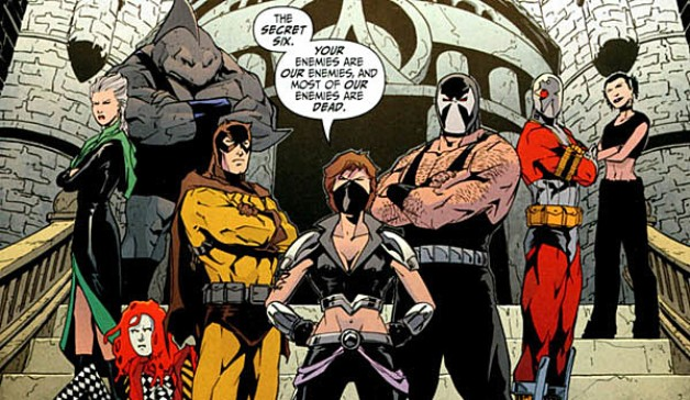 DC Comics Secret Six CBS