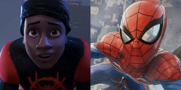 3e3b71a384a65 Spider-Man  Into the Spider-Verse doesn t hit theaters until this holiday  season but fans are already spotting easter eggs in the film