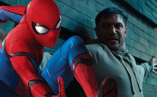 Sony Spider-Verse Venom Spider-Man