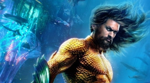 Aquaman Arthur Curry Character Poster banner Chinese Trailer
