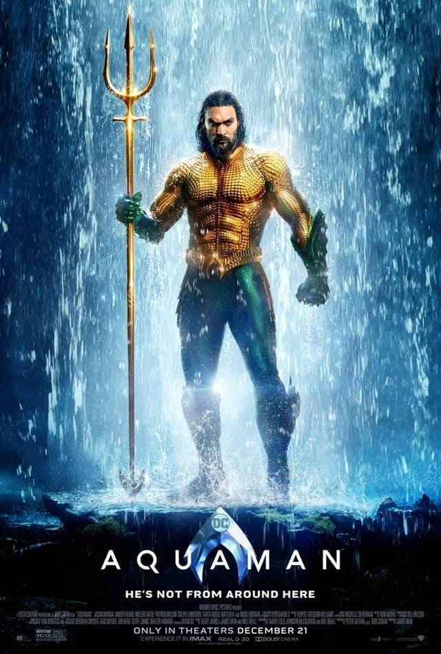 Aquaman Trident Poster James Wan DC