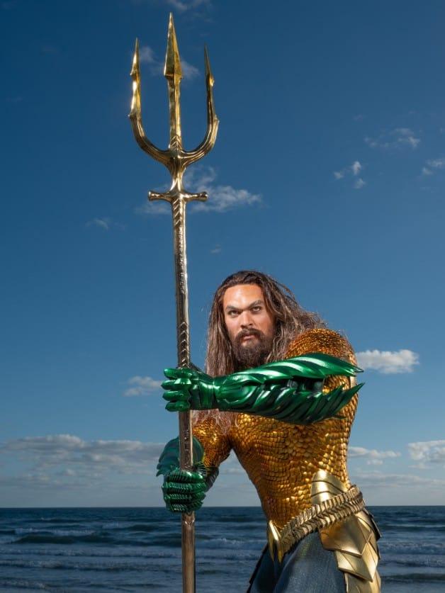 Aquaman-Wax-Figure