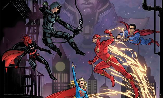 Arrowverse Elseworlds DC Comics CW