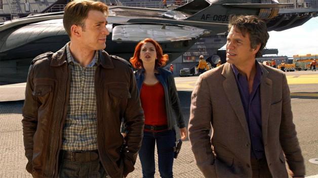Avengers Chris Evans Mark Ruffalo