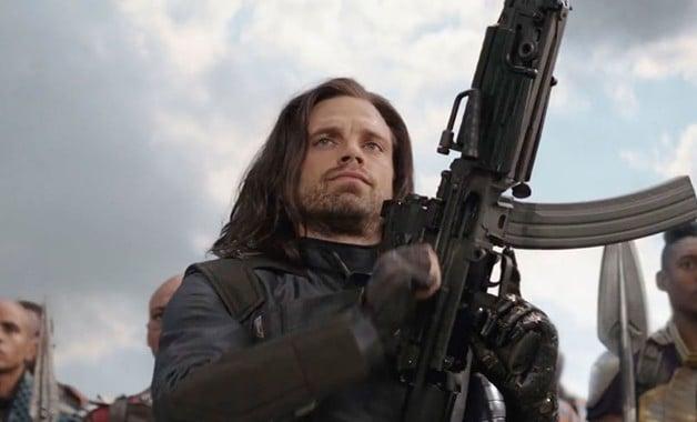 Avengers Infinity War Bucky Winter Soldier Sebastian Stan Marvel Studios