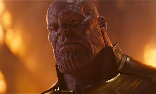 Avengers Infinity War Thanos Order Black Marvel Studio