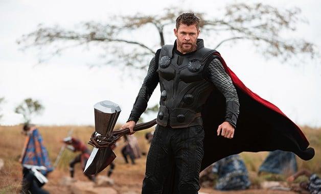 Avengers Infinity War Thor Marvel_Studios