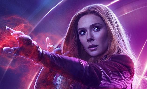 Bruxa Escarlate dos Vingadores Elizabeth Olsen Marvel