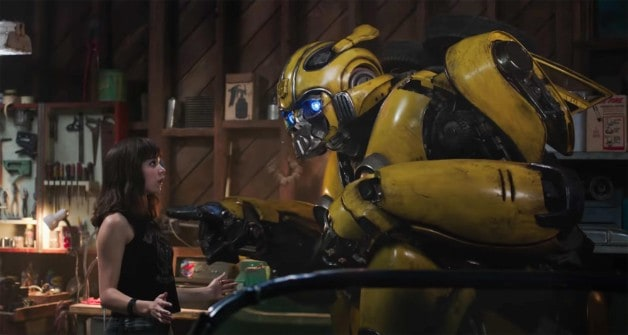 Bumblebee Movie Transformers Hailee Steinfeld