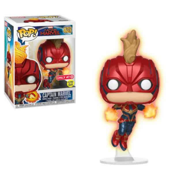 Captain Marvel Carol Danvers Funko 10