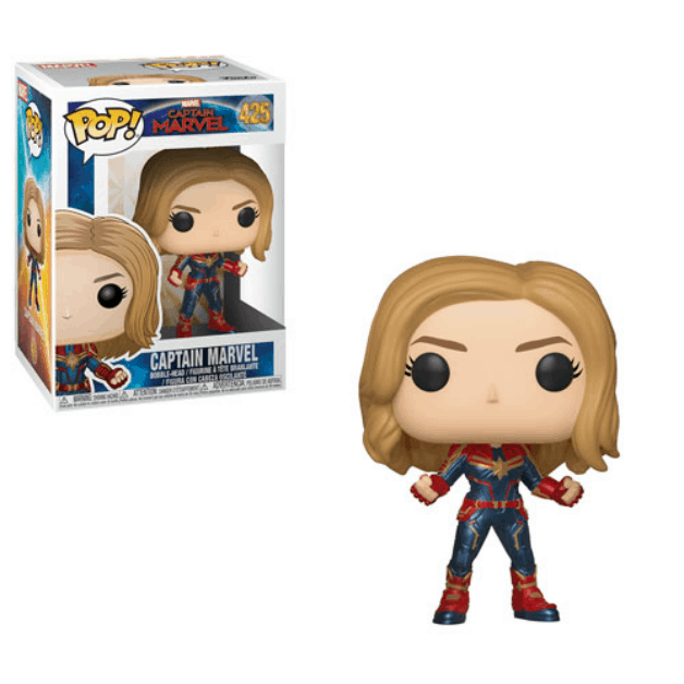 Captain Marvel Carol Danvers Funko 2'