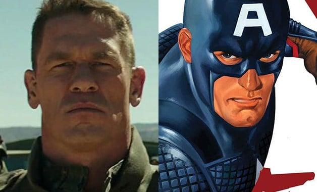 Captain America John Cena