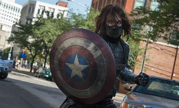 Captain America Sebastian Stan Chris Evans Marvel Studios