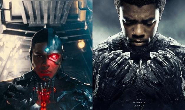 Cyborg Black Panther