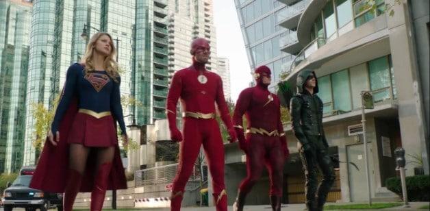 Elseworlds Arrow Supergirl Flash Batwoman DCCW