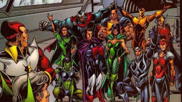 Eternals Captain Marvel Avengers 4 Comic-Con