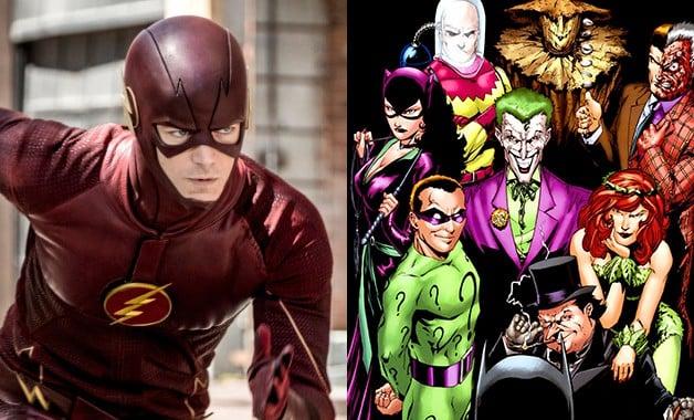 Flash Batman DC Comics CW