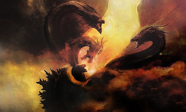67f0feecc5b New 'Godzilla: King Of The Monsters' Posters Showcase Rodan, Mothra &  Ghidorah