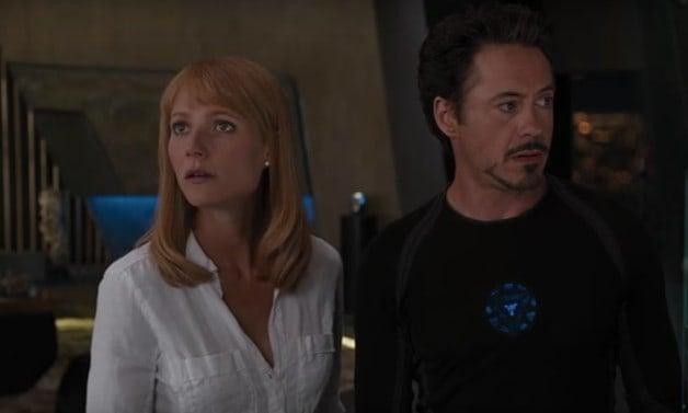 Avengers Endgame Iron Man 3 Tony Stark Pepper Potts Marvel