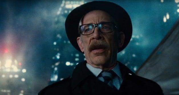 J.K. Simmons Commissioner Gordon Justice League Batman