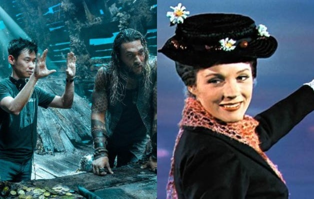 James Wan Aquaman Julie Andrews