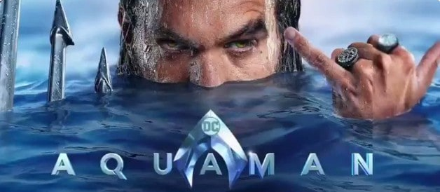 Jason Momoa Bandeira de Arthur Curry Aquaman