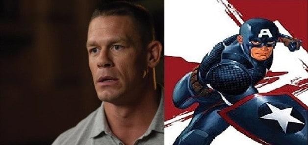 John Cena Captain America
