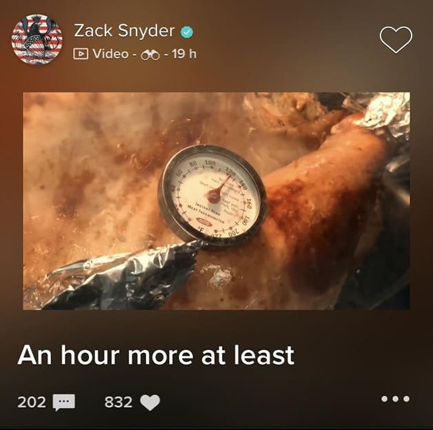 Zack Snyder Trolls 'Justice League' With Hilarious