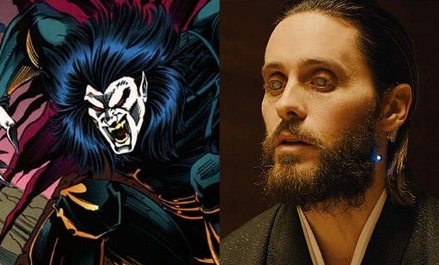 Morbius Jared Leto Spider-Man Sony Marvel Comics
