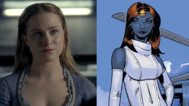 Mystique Marvel Evan Rachel Wood