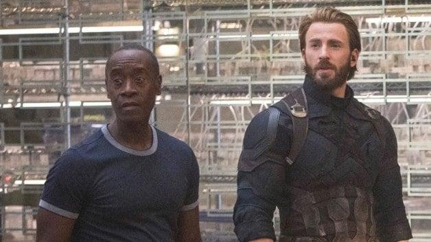 Netflix Rhodey War Machine Avengers Infinity War