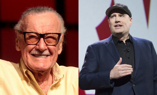 Stan Lee Kevin Feige Marvel