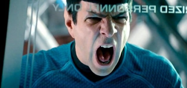 Star Trek Wrath of Khan Into Darkness