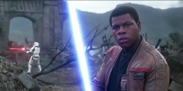 Star Wars Episode IX Finn John Boyega Lightsaber