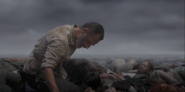 The Walking Dead AMC Rick Grimes Ratings