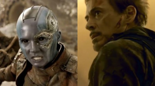 Tony Stark Iron Man Nebula Avengers 4