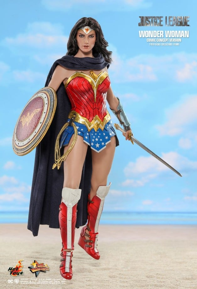Wonder Woman Gal Gadot DC Comics Hot Toys