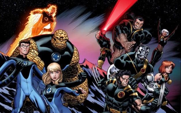 X-Men Fantastic Four Marvel Avengers MCU