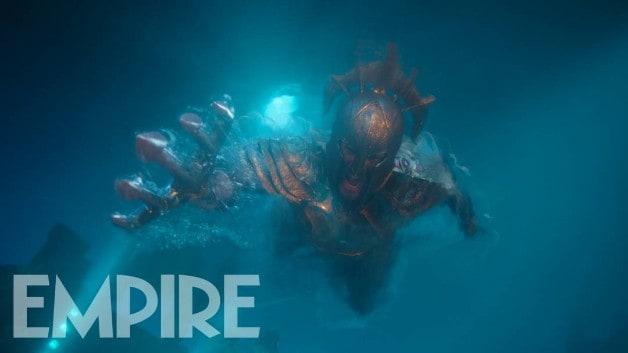 Armadura de Metal Aquaman Jason Momoa