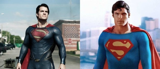 Superman Henry Cavill Christopher Reeves