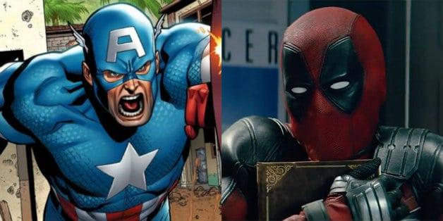 Deadpool Captain America