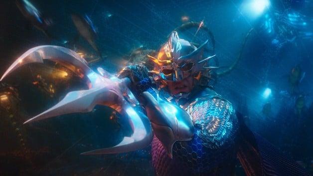Mestre do Oceano Aquaman Patrick Wilson