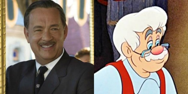 Pinocchio Tom Hanks Gepetto