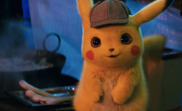 Ryan Reynolds Detective Pikachu Pokemon Charizard Jigglypuff Justice Smith