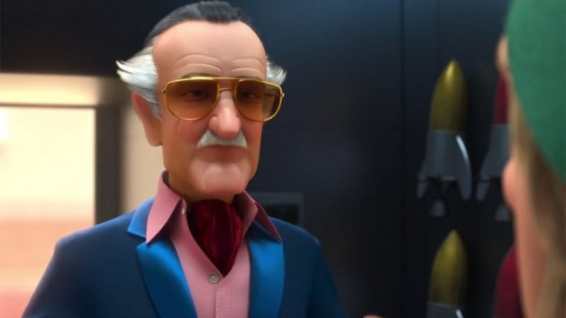 Stan Lee Animated Ralph Breaks The Internet Spider-Verse Spider-Man Phil Lord Chris Miller