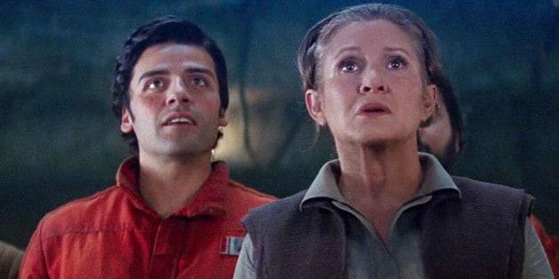 Star Wars Poe Dameron Leia
