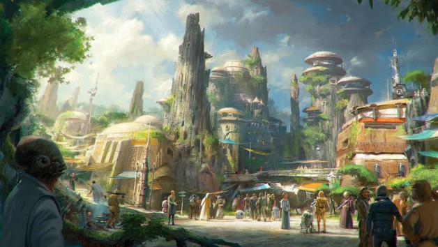 Star Wars Galaxy's Edge Bob Iger Disney John Williams