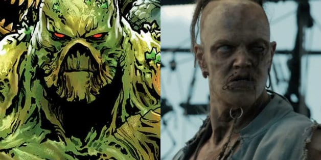 ALEC HOLLAND & SWAMP THING Cast for DC UNIVERSE